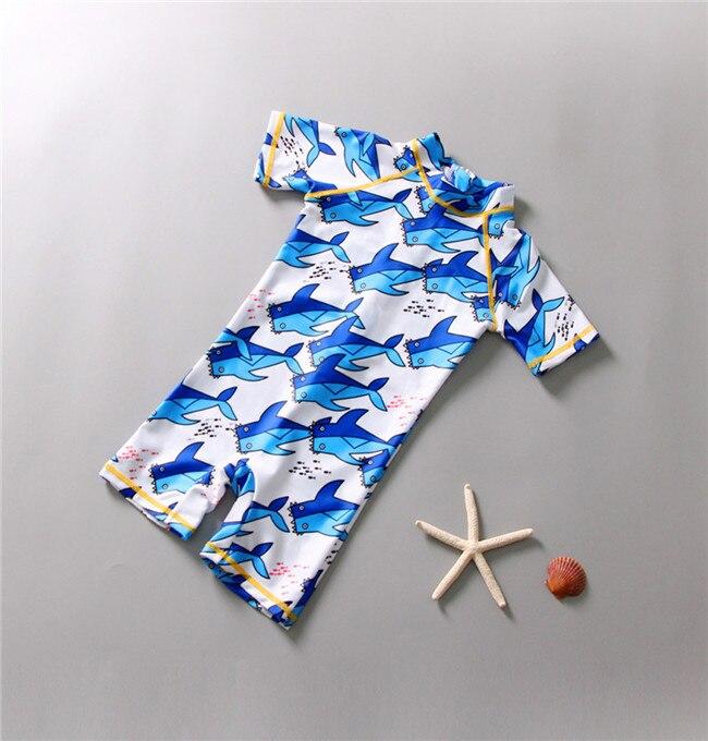 2019 New Style Kid Baby Girl Boy 3d Cartoon One Piece Beach Swimwear Swimsuit Bathing Clothes
