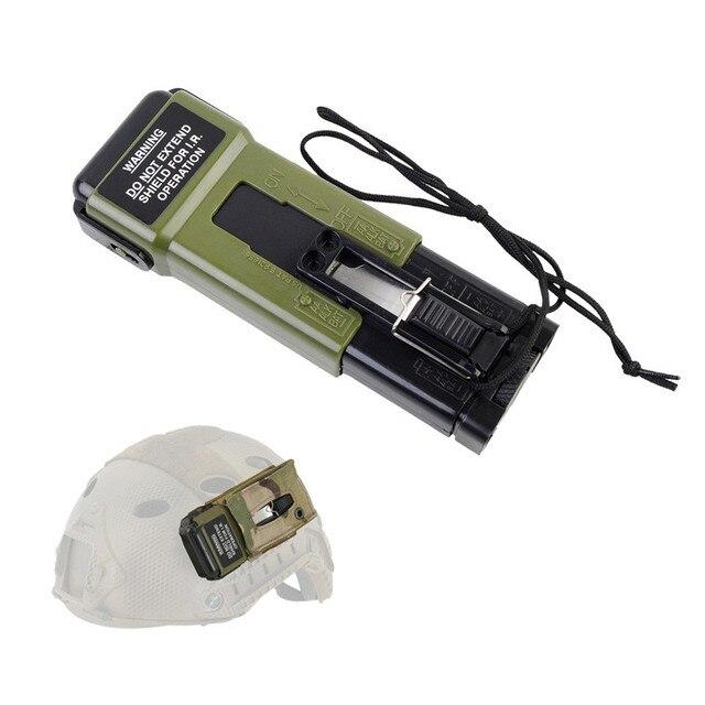MS2000 Helmet Life-saving Strobe Light (Dummy) Tactical Helmet Accessory Outdoor Hunting Combat Helmet Survival Tool 1