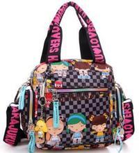 Kiple Harajuku doll handbag waterproof nylon cloth women's bags one shoulder cross-body women's handbag mother bag
