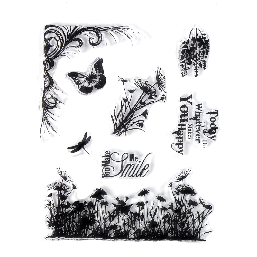 CCINEE Transparent Clear Stamp For DIY Scrapbooking/Card Making/ Decoration Supplies