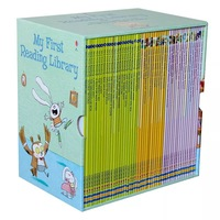 50 Books/Set Usborne My First Reading Library English Picture Books Educational English Books for Children Words Learning Books
