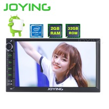7″ Joying 2G+32G Android 6.0 Universal Car Audio Stereo GPS Navigation Double 2 Din 1024*600 HD Head Unit Multimedia Player