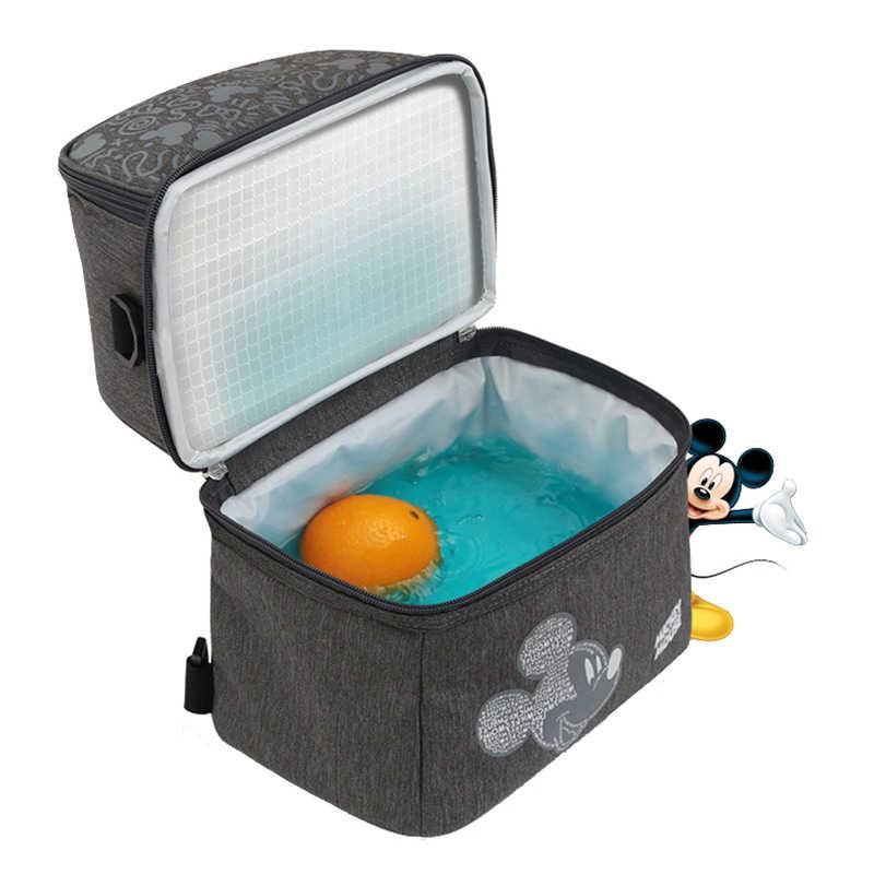 Grand Disney isolé garder au chaud alimentation sac de biberon garder les Fruits Cool sac à couches Portable mère bébé sac pour maman