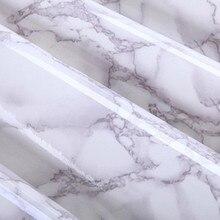 Linerdiy контакт мраморный виниловые полки самоклеющиеся обои кухонный бумага современный серый