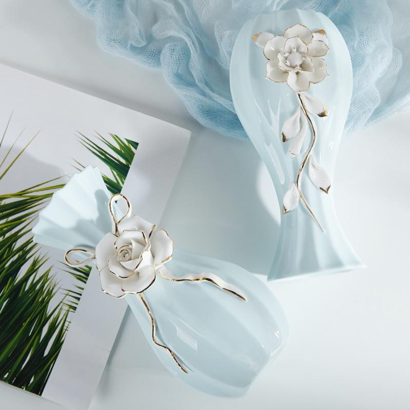 Porcelain-Vase-Living-Room-Table-Decorations-Porcelain-Vase-Modern-Simple-Household-Wedding-Decoration-Gifts