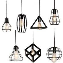 Nowoczesna Lampa Wisząca 7 Wzorów 90-260V E27