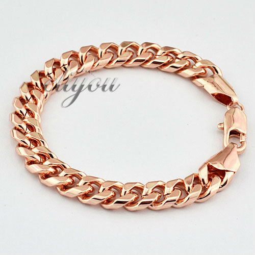 Fashion Jewelry Mens Womens Smooth Flat Curb Cuban Link
