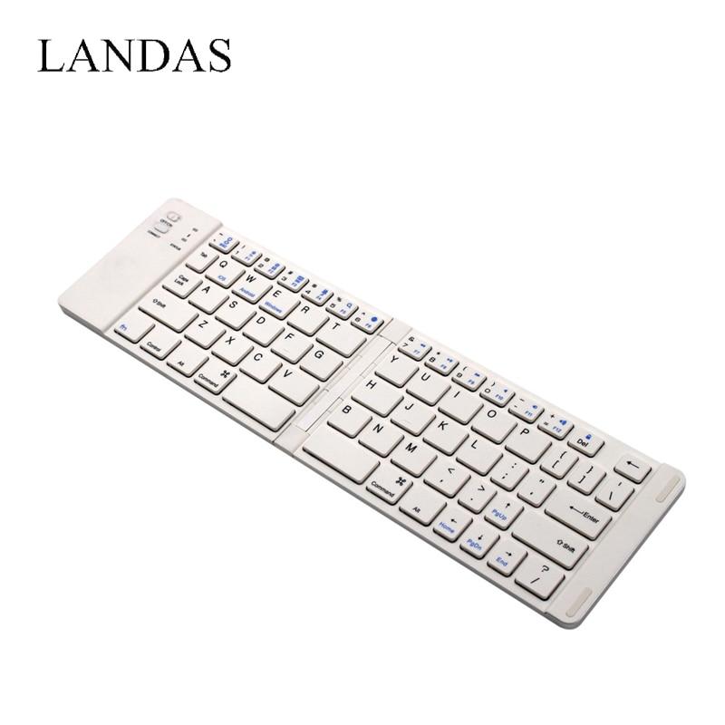 1 Bluetooth Keyboard Folding