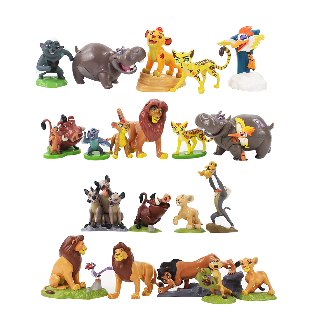 5-9cm The Lion King Simba PVC Action Figure Toy Children Christmas Gift Kids Toys