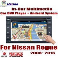 Car DVD Player For Nissan Rogue / Rogue S 2008~2015 IPS LCD Screen GPS Navigation Android System Radio Audio Video Stereo