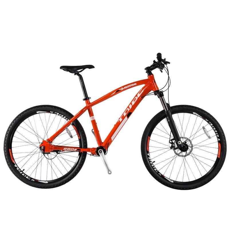 JDC-280, offre spéciale VTT d'entraînement d'arbre pour hommes et femmes, 15.6/17 pouces, 3 vitesses, V/frein à disque, vélo vtt sans chaîne