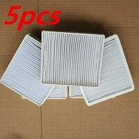 5Pcs Vacuum Cleaner Dust Filter HEPA H11 DJ63 00672D Filter For Samsung SC4300 SC4470 White VC