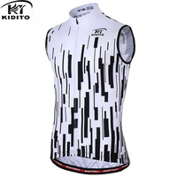 KIDITOKT cycling Jersey Summer MTB Clothes Bicycle Clothing Breathable Pro Sleeveless bicycle Ropa Maillot Ciclismo Bike Vests
