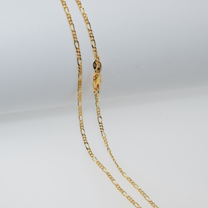 Various Size 16-30 Hot Sale Gold Filled Figaro Neck