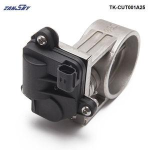 """Image 5 - 2 """"/2.25""""/2.5 """"/2.75""""/3 """"zawór wydechowy klapa sterowania + sterowanie elektryczne Box dla Catback Downpipe TK CUT001A25 DZ"""