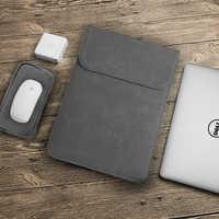 Pochette d'ordinateur 11 12 13 14 15 15.6 pouces pour Macbook air Xiaomi pro 13.3 Asus Dell housse pour ordinateur portable 14.1 couverture mate imperméable
