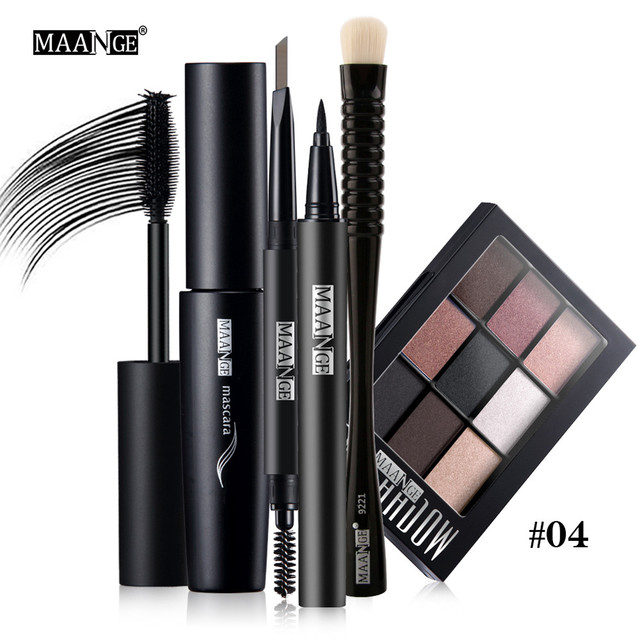 New Arrivals Blusher Lip Gloss Shimmer Eyeshadow Palette Makeup Kit Brush Cosmetic Set Professional Perfect Hot
