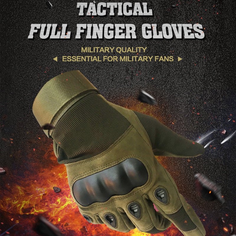 Tactical Gloves Military Army Paintball Airsoft Outdoor Sports Shooting Carbon Hard Knuckle Half / Full Finger Gloves цена 2017