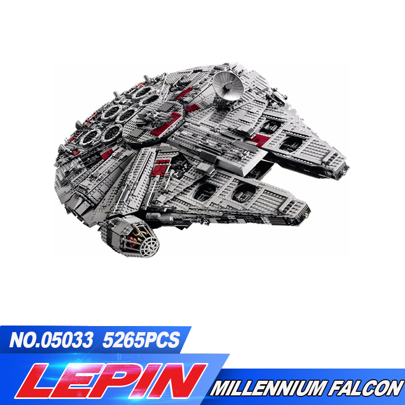 2017 New lepin 05033 5265Pcs  Ultimate Collector's Millennium Falcon Model Building Compatible гроза о new millennium english 11 кл раб тетрадь
