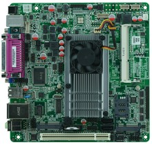 Hot sales Intel D525/1.80GHz dual core CPU industrial embedded motherboard with 1*VGA/8*USB/6*COM