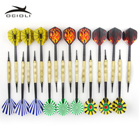 18X Darts Copper Dart 18g Soft Tip Dart With 36 Extra Tips For Electronic Dartboard