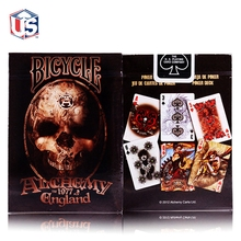 New Magician's Favorite Original Alchemy England Deck Playing Cards Advanced Paper Poker Magic Tricks Gift Collection Poker