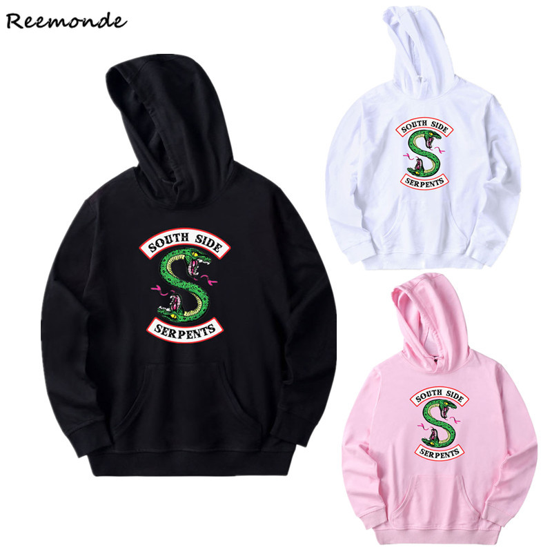 South Side Serpents Riverdale Southside Hoodie Sweatshirts Riverdale Hooded Sweater Pants Sport Suit Girl Women Cosplay Costume image