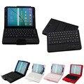 Novo tablet da chegada tampa destacável teclado bluetooth + pu stand case para samsung galaxy tab s2 8.0 polegadas presente em88