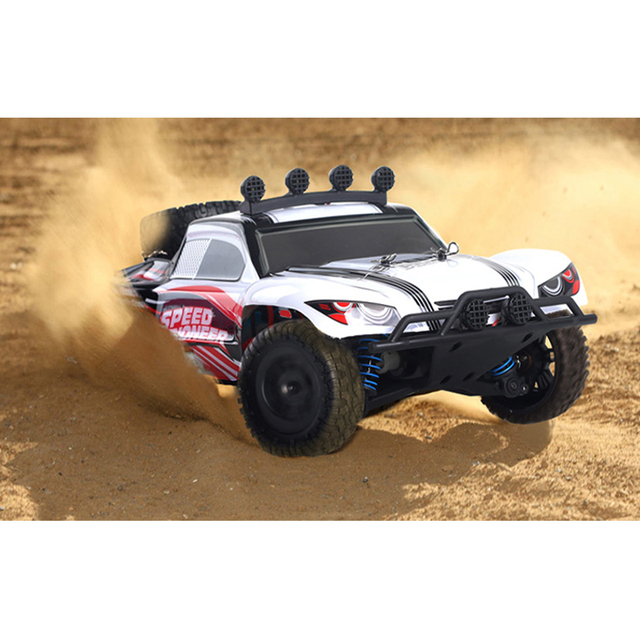 RC Car 4WD 45km/h Full Proportion High Speed Drift 2.4G Monster Truck Remote Control BigFoot Buggy Off-Road SUV Electronic Toys 3