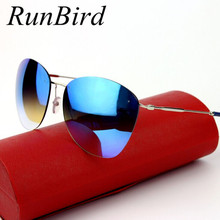 Fashion Hot New Vintage Rimless Sunglasses Women Brand Desig