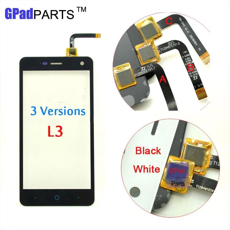 imágenes para 5.0 pulgadas Nuevo Panel de Pantalla Táctil Digitalizador Para ZTE Blade L3 Sensor de Pantalla Táctil De Cristal Frontal 3 Versión