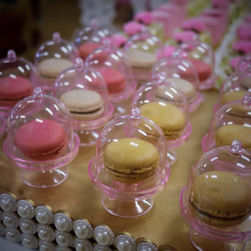 5 Colors-20pcs/lot Transparent Plastic Candy Boxes Wedding Favor Boxes Supplies Baby Shower Favors Birthday Party Decorations