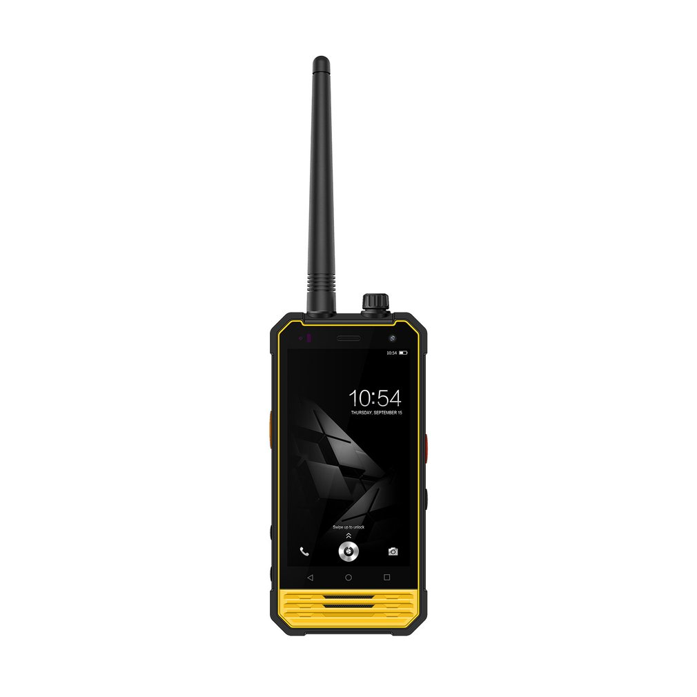 Nomu T18 Walkie Talkie IP68 Waterproof MTK6737T Quad core Shockproof 5200mAh 4G Mobile Phone 4.7 Android 7.0 3G+32G Cellphone