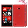 "Nokia lumia 720 Windows Phone 8 Dual core 4.3 "" 1.0 GHz cámara 6.7MP ROM 8 GB 3 G teléfono celular reparado"