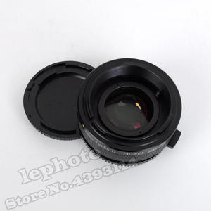 Image 4 - Mitakon Zhongyi Lens Turbo II Focal Reducer Speed Booster Adapter for Canon FD Lens to Sony E Mount Camera NEX A6000 A6300 A6500