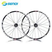 26 Inch 27.5 Inch Mountain Bike 120 Sounds 5 Perlin Wheel Group Disc Brake Lightweight Bicycle Rims Set LQ001
