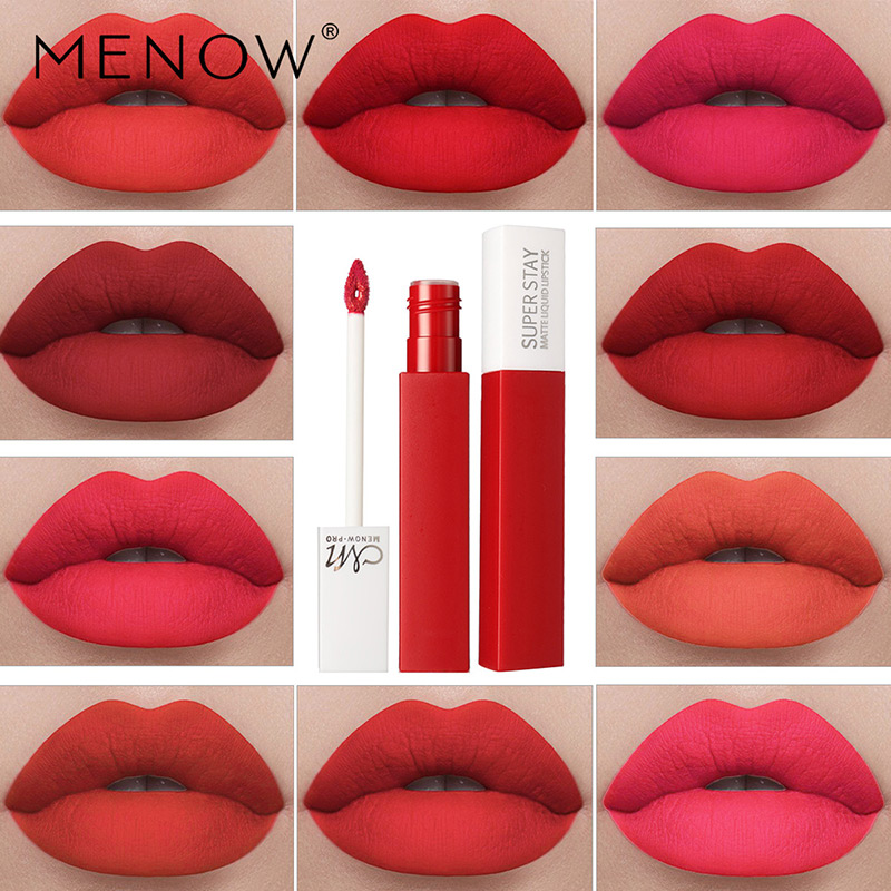 NEW Matte Lip Glaze 12 Colors Liquid Lipstick Waterproof Long Lasting Tint