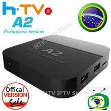 CUADRO A2 HTV5 htv 5 H. TV 5 caja de Brazilian Portuguese Internet IPTV Caja brasileiros Vivo Caja de TV HD Streaming de htv5 Brasileño