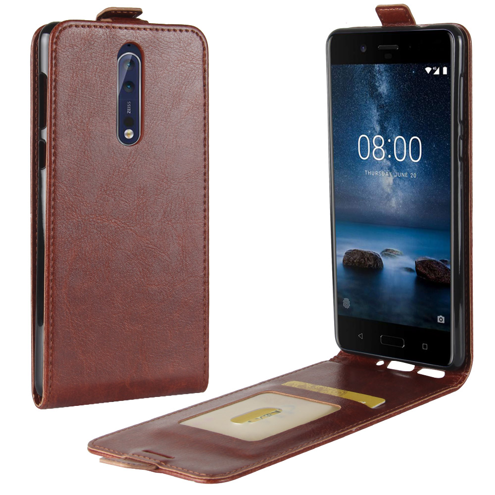 For Nokia 8 case PU Leather cover for Nokia 8 case up and down case Hit ColorFull Cover For Nokia 8 Flip Capa Fundas Cover