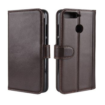 Genuine Leather Case For Huawei Honor 7C 5.7