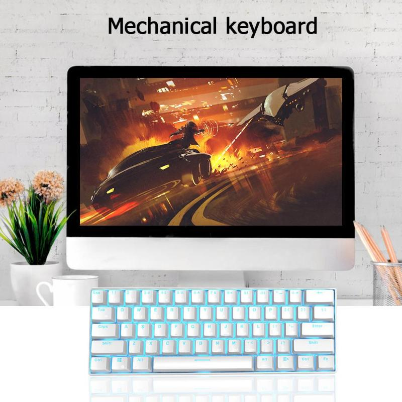 Image 3 - VODOOL RK61 Wireless Bluetooth Mechanical Gaming Keyboard Backlight Gaming Keyboard Ergonomics Office Computer Components newst-in Keyboards from Computer & Office