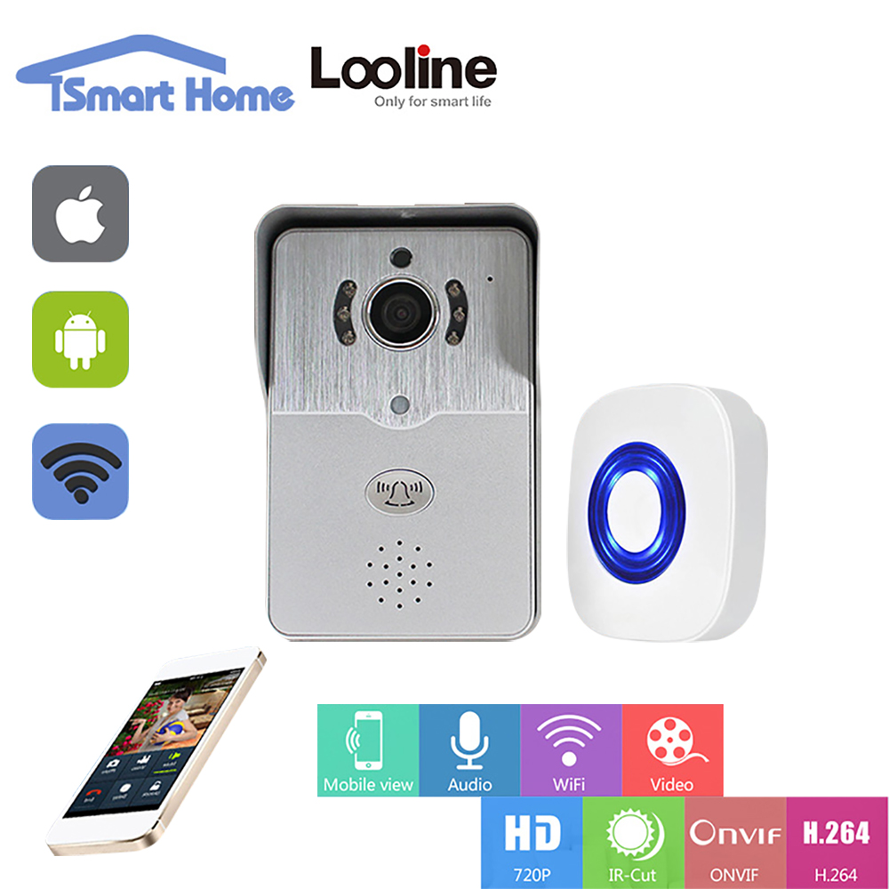 Doorphone Video Door Phone Intercom Wi Fi Doorbell Camera
