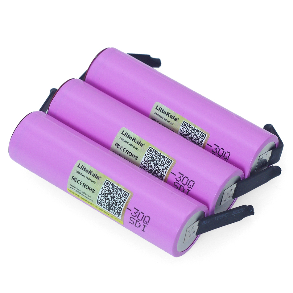 Image 5 - Liitokala 3.7v INR18650 30Q li lon Rechargeable battery 3000mAh 30q laptop batteries + DIY Nickel-in Replacement Batteries from Consumer Electronics