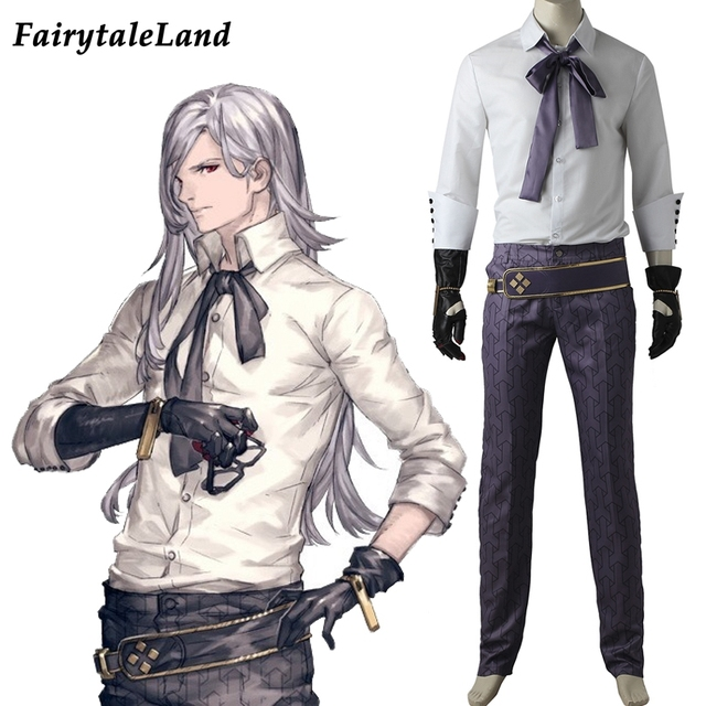 NieR Automata Adam Cosplay Costume Halloween costumes for adult office suit  fancy costume custom made cosplay