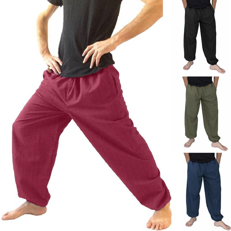 Modestil Incerun 5xl Casual Männer Hosen Jogger Breite Bein Lose Hosen Hip Hop Harem Hosen Elastische Taille Baggy Marke Bodybuilding