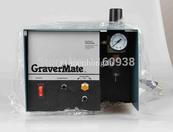 Graver Helper,Pneumatic Jewelry Engraving Machine Single Ended Graver mate Graver Tool Jewelry Engraver, Jewel Making Equipment