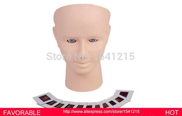 MANIKIN HEAD MEDICAL MANIKINS MEDICAL TRAINING SIMULATORS NURSING TRAINING MANIKIN RETINOPATHY INSPECTION MODEL-GASEN-CSM0053 bix h2400 advanced full function nursing training manikin with blood pressure measure w194