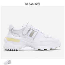 Spring new old shoes men's Korean version of ulzzang thick bottom increased sports shoes tide shoes