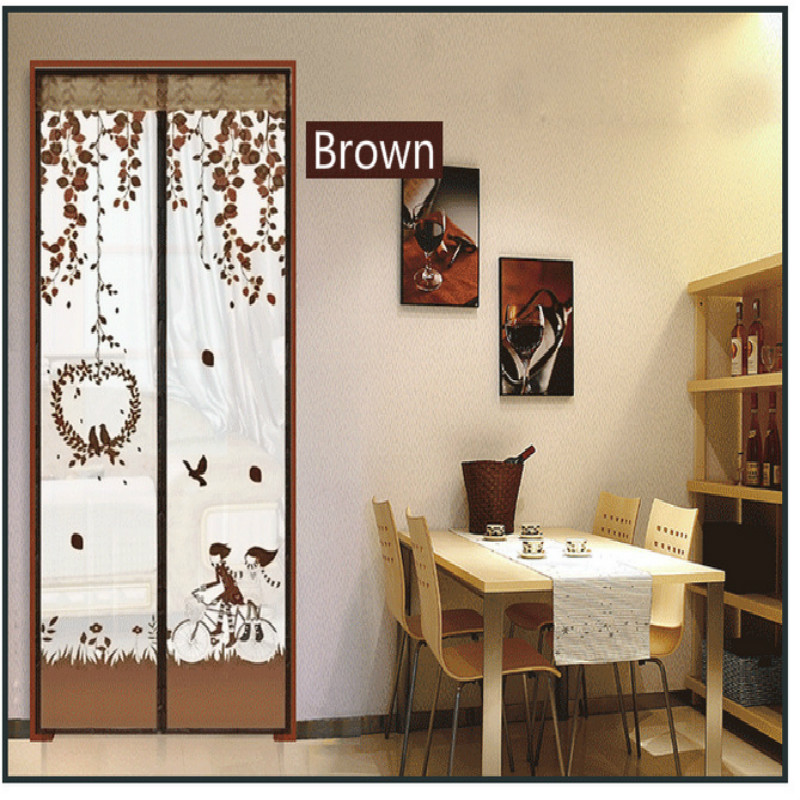 Summer Mosquito Curtains Magnetic Insect Door Anti Mosquito Curtain Screen Kitchen Door Curtains