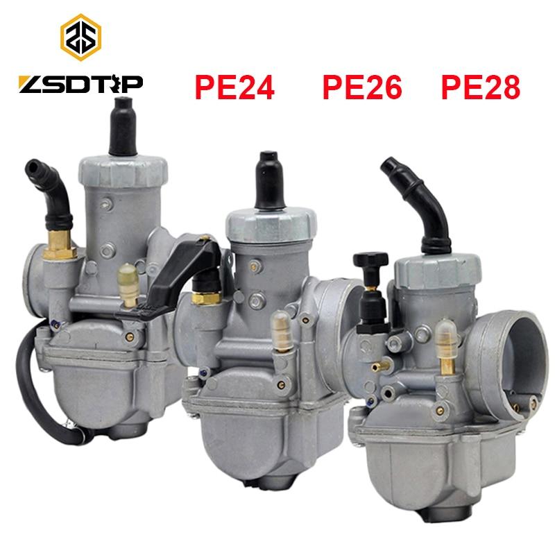 Keihin carburetor PE24/28/30 throttle valve assembly KDX125
